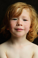 Portrait of a child, May 2015.