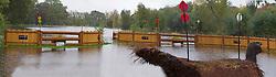 Floated fences at the 'Mondial du Lion 2012'<br /> Mondial du Lion 2012 - Le Lion d'Angers 2012<br /> © Dirk Caremans