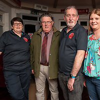 REPRO FREE<br /> Susan McCarthy, Kinsale CFR; Eamon Hetherington, Chairman Red Cross Kinsale; Peter Tiernan, Kinsale CFR and Tracey Horgan, Kinsale pictured at the official launch of Kinsale Community First Responders.<br /> Picture. John Allen