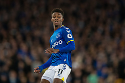 LIVERPOOL, ENGLAND - Monday, September 13, 2021: Everton's Demarai Gray during the FA Premier League match between Everton FC and Burnley FC at Goodison Park. (Pic by David Rawcliffe/Propaganda)