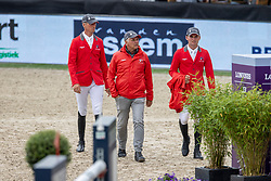 Team SWitserland, Jufer Alain, Balsyger Brian<br /> CHIO Rotterdam 2021<br /> © Dirk Caremans<br />  02/07/2021