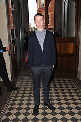 Actor WILL POULTER at a fashion show by Catherine Walker & Co in support of The Haven held at One Mayfair, North Audley Street, London on 18th May 2011.