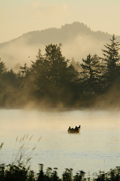 Scenic image of the town of Nehalem, OR