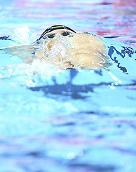 HANGZHOU, Dec. 12, 2018  Ryan Murphy of the United States competes during Men's 100m Backstroke Final at 14th FINA World Swimming Championships (25m) in Hangzhou, east China's Zhejiang Province, on Dec. 12, 2018. Ryan Murphy claimed the title with 49.23 seconds. (Credit Image: © Xinhua via ZUMA Wire)