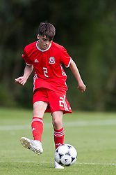 WREXHAM, WALES - Thursday, August 15, 2019: Wales' Alex Williams during the UEFA Under-15's Development Tournament match between Wales and Northern Ireland at Colliers Park. (Pic by Paul Greenwood/Propaganda)