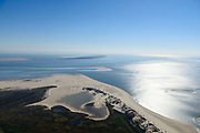 Nederland, Friesland, Terschelling, 07-05-2018; Noordvaarder (ook Noordsvaarder), zandplaat, inmiddels deel van eiland Terschelling. Voormalige militair oefenterrein, nu belangrijk natuurgebied en Staatsnatuurmonument.<br /> Noordsvaarder, sand bank, now part of the island of Terschelling. Former military training ground, now important nature reserve and State Nature Monument.<br /> luchtfoto (toeslag op standard tarieven);<br /> aerial photo (additional fee required);<br /> copyright foto/photo Siebe Swart