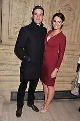 GETHIN JONES and SUSIE AMY at Cirque du Soleil's VIP night of Kooza held at the Royal Albert Hall, London on 8th January 2013.