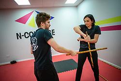 Filipino Martial Arts class at N-Courage, Alloa