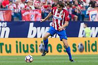 Julio Salinas during the last match to be played by Atletico de Madrid at Vicente Calderon Stadium in Madrid, May 28, 2017. Spain.. (ALTERPHOTOS/Rodrigo Jimenez)