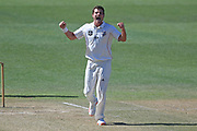 Canterbury's Edward Nuttall reacts in the Plunket Shield Cricket match, Central Districts v Canterbury, McLean Park, Napier, Tuesday, April 06, 2021. Copyright photo: Kerry Marshall / www.photosport.nz