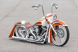 The Chopp Shop's Shannon Davidson's custom 2016 Harley-Davidson Heritage with Metalsport Wheels owned by Ed White of South Carolina. Daytona Beach Bike Week, FL. USA. Tuesday, March 12, 2019. Photography ©2019 Michael Lichter.