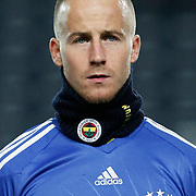 Fenerbahce's Mirosloav STOCH during their Turkey Cup group c matchday 5 soccer match Fenerbahce between Genclerbirligi at the Sukru Saracaoglu stadium in Istanbul Turkey on Thursday 27 January 2011. Photo by TURKPIX