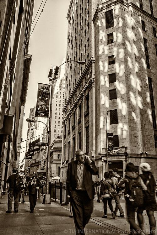 Wall Street & New York Stock Exchange, Lower Manhattan