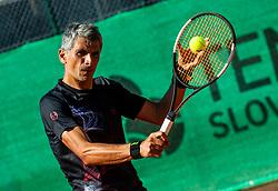 Marko Lopatic at Day 10 of ATP Challenger Zavarovalnica Sava Slovenia Open 2019, on August 18, 2019 in Sports centre, Portoroz/Portorose, Slovenia. Photo by Vid Ponikvar / Sportida