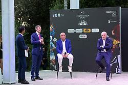 ARIEDO BRAIDA ADRIANO GALLIANI E GIUSEPPE MAROTTA  <br /> INAUGURAZIONE CALCIOMERCATO 2021 GRAND HOTEL RIMINI