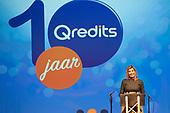 Koningin Maxima speecht bij jubileum Qredits