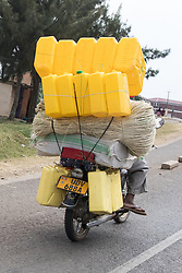 Carrying Containers Rope and Other Items On Motorcycle