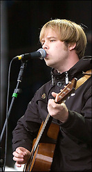 James Skelly of The Coral plays on the Main Stage at T in the Park Friday 6 July 2007..T in the Park festival took place on the 6th, 7th and 8 July 2007, at Balado, near Kinross in Perth and Kinross, Scotland. This was the first time the festival had been held over three days..Pic ©2011 Michael Schofield. All Rights Reserved..