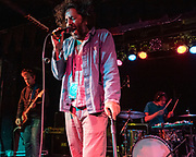 WASHINGTON, DC - March 9th, 2020 - Nicolas Brag, Dan Bejar and Josh Wells of Destroyer perform at the Black Cat in Washington, D.C.  The band released their 12th studio album, Have We Met , in January. (Photo by Kyle Gustafson / For The Washington Post)