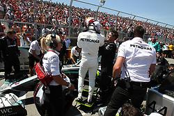 June 9, 2019 - Montreal, Canada - xa9; Photo4 / LaPresse.09/06/2019 Montreal, Canada.Sport .Grand Prix Formula One Canada 2019.In the pic: Lewis Hamilton (GBR) Mercedes AMG F1 W10 (Credit Image: © Photo4/Lapresse via ZUMA Press)