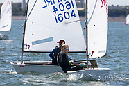 Optimist dinghy sailing at Royal Cork 2020