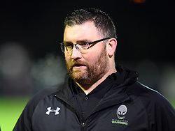 A tense return to Bristol for Worcester Valkyries director of rugby Roy Davies - Mandatory by-line: Paul Knight/JMP - 16/12/2017 - RUGBY - Cleve RFC - Bristol, England - Bristol Ladies v Worcester Valkyries - Tyrrells Premier 15s