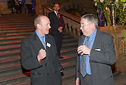 SIMON SEBAG-MONTEFIORE; MALCOLM EDWARDS, Orion Authors' Party celebrating their 20th anniversary. Natural History Museum, Cromwell Road, London, 20 February 2012.
