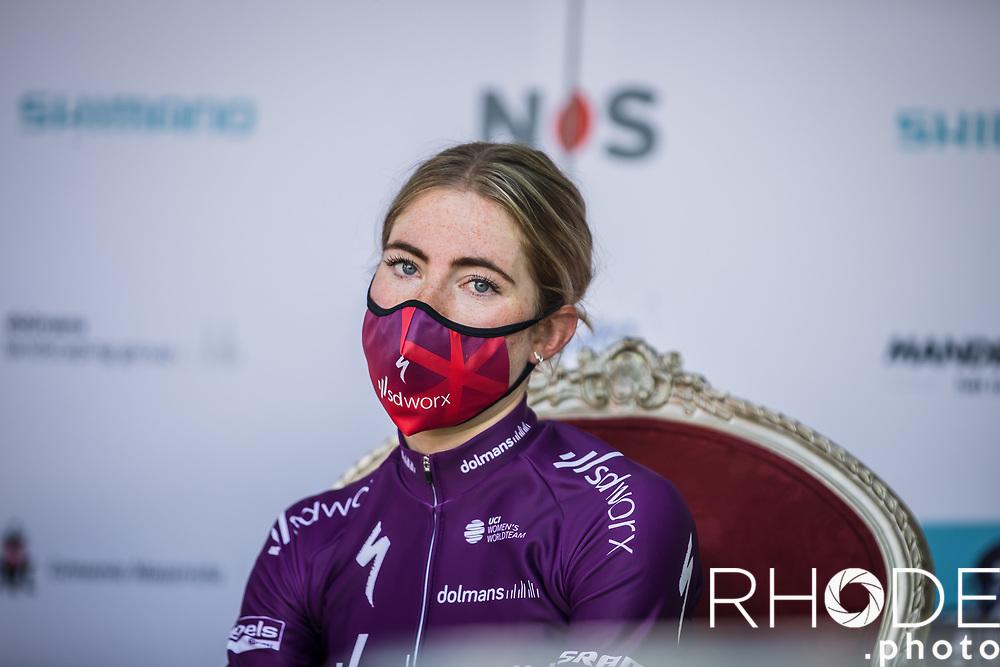 Demi Vollering (NED/SD Worx), post race<br /> <br /> 7th Amstel Gold Race Ladies Edition <br /> Valkenburg > Valkenburg 116km<br /> <br /> ©RhodePhoto