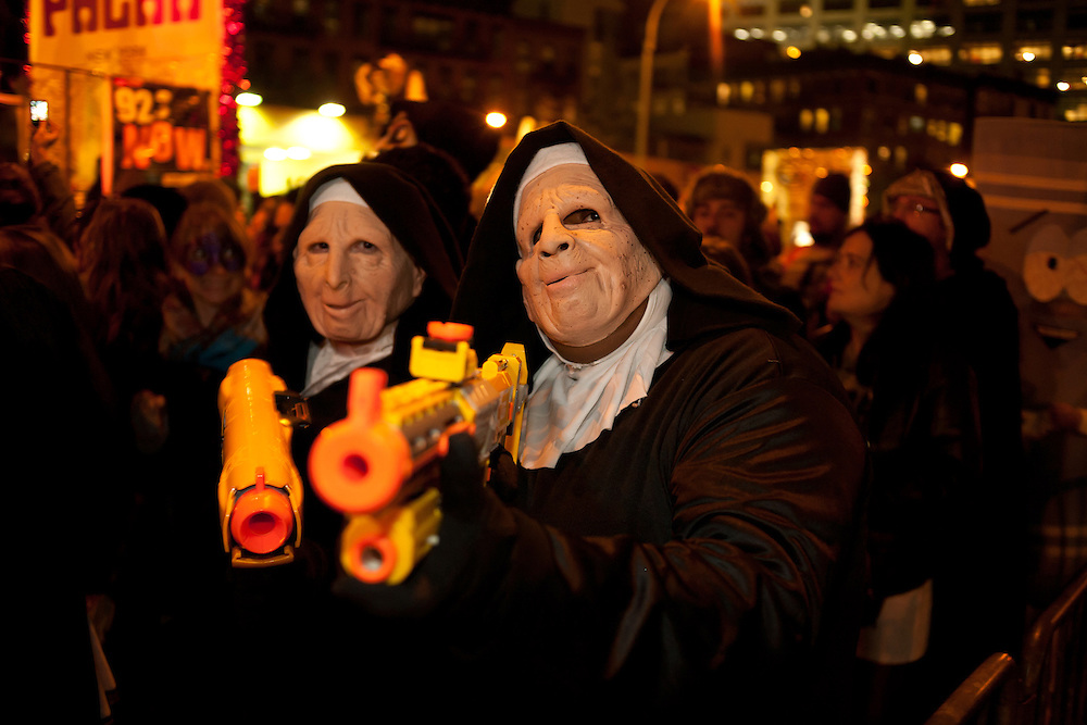 Nuns bearign weapons