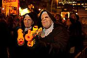 Nuns bearign weapons
