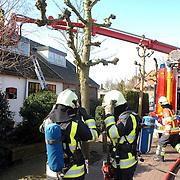 NLD/Huizen/20070322 - Woningbrand Taanderstraat 4 Huizen