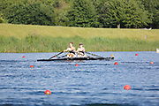 Race: 105  Event: Women's Double Sculls - Tier 2 - Final<br /> <br /> National Schools Regatta 2018<br /> Sunday<br /> <br /> To purchase this photo, or to see pricing information for Prints and Downloads, click the blue 'Add to Cart' button at the top-right of the page. The Metropolitan Regatta 2018 The Metropolitan Regatta 2018