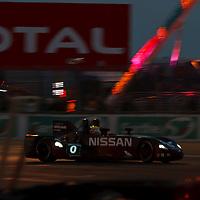 #0 Nissan DeltaWing, Highcroft Racing, Drivers: Franchitti, Krumm, Motoyama, Le Mans 24H, 2012