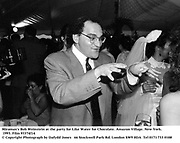 Miramax's Bob Weinstein at the party for Like Water for Chocolate. Amazon Village. New York. 1993. Film 93374f14<br />© Copyright Photograph by Dafydd Jones<br />66 Stockwell Park Rd. London SW9 0DA<br />Tel 0171 733 0108