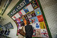 Place de Clichy Métro Station