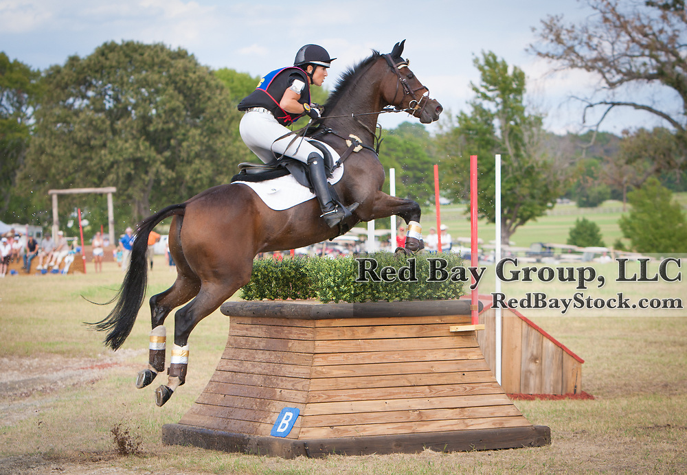 Laine Ashker and Anthony Patch at the 2013 Nutrena USEA American Eventing Championships in Tyler, Texas.