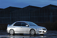 Cath's Mitsubishi Evolution VII GT-A Lancer Shoot.Shot using 4 Nikon SB800's and Nikon's CLS System.Two bare SB800's mounted on light stands positioned to left of the camera and one bare SB800 to camera right.(C) Joel Strickland Photographics.