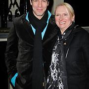 NLD/Amsterdam/20120217 - Premiere Saturday Night Fever, Oren Schrijver en zus