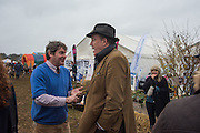 CHARLIE BROOKS; JEREMY CLARKSON, The Heythrop Hunt Point to Point. Cocklebarrow. 24 January 2016