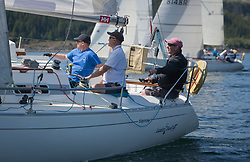 Sailing - SCOTLAND  - 25th-28th May 2018<br /> <br /> The Scottish Series 2018, organised by the  Clyde Cruising Club, <br /> <br /> First days racing on Loch Fyne.<br /> <br /> GBR4607, Leaky Roof II, Harper/Robertson, CCC/Cove SC<br /> <br /> Credit : Marc Turner<br /> <br /> <br /> Event is supported by Helly Hansen, Luddon, Silvers Marine, Tunnocks, Hempel and Argyll & Bute Council along with Bowmore, The Botanist and The Botanist