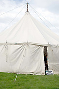The craft tent at Farndale Show closed for judging on 28th August 2017 in North Yorkshire, United Kingdom. Farndale Show is a small traditional agricultural show in the heart of the North York Moors
