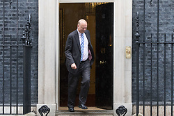 London, June 27th 2017. Transport Secretary Chris Grayling leaves the weekly UK cabinet meeting at 10 Downing Street in London.