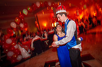 Middletown, New Jersey | 2011<br /> Justin Haggan and Hema Ramaswamy, students in the special education program at Middletown High School South, enjoy a dance after they were crowned prom king and queen after a vote of the entire senior class.