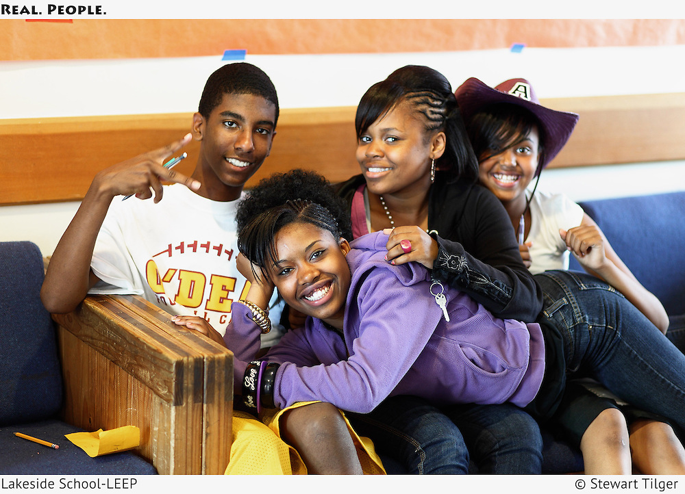 LEEP students posing for the camera.