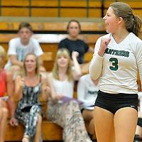 8.26.2014 Vermilion at Elyria Catholic Varsity Volleyball