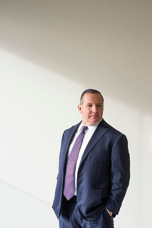Baltimore, Maryland - January 02, 2015: Chris Dillon is a global fixed income portfolio specialist at T. Rowe Price.<br /> <br /> <br /> CREDIT: Matt Roth for The New York Times<br /> Assignment ID: 30168952A