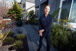 Mark Olson, whose landscape design firm GardenCrafters was voted Best Landscaper in the Bay Area News Group's Best in the East Bay poll, poses for a photograph with some of his handiwork, Tuesday, March 16, 2021 in Vallejo, Calif. (Photo by D. Ross Cameron)