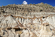 Badlands along the Red Deer River<br /> near Morin<br /> Alberta<br /> Canada