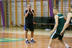 Training of Slovenian national basketball team, on July 19, 2017 in Zrece, Slovenia. Photo by Ziga Zupan / Sportida