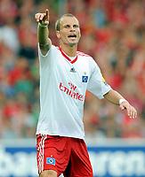 Fotball<br /> Tyskland<br /> Foto: Witters/Digitalsport<br /> NORWAY ONLY<br /> <br /> 09.08.2009<br /> <br /> David Rozehnal HSV<br /> <br /> Bundesliga SC Freiburg - Hamburger SV 1:1
